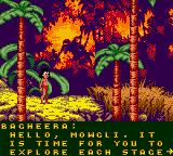 Walt Disney's The Jungle Book: Mowgli's Wild Adventure Game Boy Color Tutorial