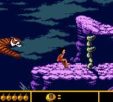 Walt Disney's The Jungle Book: Mowgli's Wild Adventure Game Boy Color The final boss... escape!