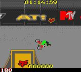 MTV Sports: T.J. Lavin's Ultimate BMX Game Boy Color A crazy jump.