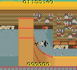MTV Sports: T.J. Lavin's Ultimate BMX Game Boy Color This looks like it is a wicker half-pipe...