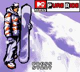 MTV Sports: Pure Ride Game Boy Color Title Screen