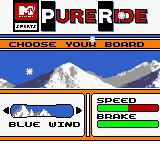 MTV Sports: Pure Ride Game Boy Color The blue wind, named after the background sprite.