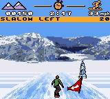 MTV Sports: Pure Ride Game Boy Color Slalom it to the left!