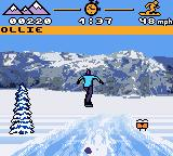MTV Sports: Pure Ride Game Boy Color A fearsome jump.
