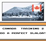 MTV Sports: Pure Ride Game Boy Color Training 2. Do a perfect slalom.
