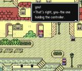 EarthBound SNES Yet another game breaks the fourth wall.