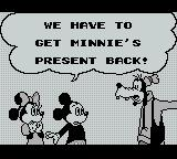 Mickey's Dangerous Chase Game Boy The story as it stands.