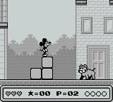 Mickey's Dangerous Chase Game Boy A fearsome guardian...