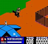 MTV Sports: Skateboarding featuring Andy Macdonald Game Boy Color Ramps! Rampilicous!