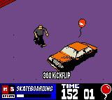 MTV Sports: Skateboarding featuring Andy Macdonald Game Boy Color London - Cars... holding poor balloons prisoner, better rescue them posthaste!