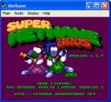 Super Methane Bros Windows Title screen