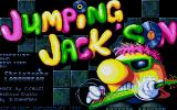 Jumpin' Jackson Atari ST Title screen.
