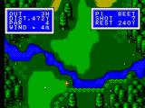 Golfamania SEGA Master System A bit of a water hazard on this hole