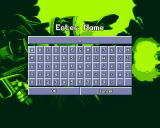 X-COM: Terror from the Deep PlayStation Name your base. Since the PlayStation does not have a keyboard, you're given this virtual keyboard to use.
