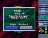 X-COM: Terror from the Deep PlayStation Your craft reached the alien crash site.