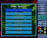X-COM: Terror from the Deep PlayStation The options menu.