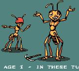 Antz Game Boy Color Opening of stage 1.