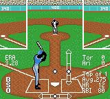 All-Star Baseball 2000 Game Boy Color Set the height of the pitch.