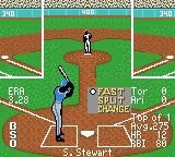 All-Star Baseball 2000 Game Boy Color Choose my pitch then speed.