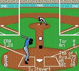 All-Star Baseball 2000 Game Boy Color Let 'er fly!