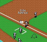 All-Star Baseball 2000 Game Boy Color Three outs. The side retires.