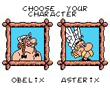 Asterix & Obelix Game Boy Color Who will you play as?