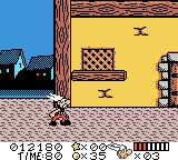 Asterix & Obelix Game Boy Color Starting location for level 3
