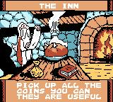 Astérix: Search for Dogmatix Game Boy Color If you go to the Inn, you can get hints.