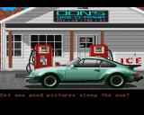 Test Drive Amiga First stop at gas station