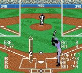 All-Star Baseball 2001 Game Boy Color Setting the height of the pitch