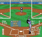 All-Star Baseball 2001 Game Boy Color Setting the speed of the pitch