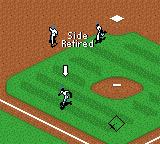 All-Star Baseball 2001 Game Boy Color Three outs. The side retires.