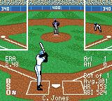 All-Star Baseball 2001 Game Boy Color Keep an eye on first.