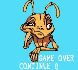 Antz Game Boy Color I lost but I can continue.