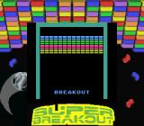 Battlezone/Super Breakout Game Boy Super Breakout title screen (Super Game Boy)
