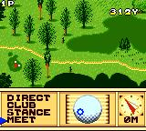 Scratch Golf Game Gear Aiming up.