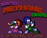 Super Methane Bros Amiga Title screen