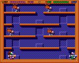 Super Methane Bros Amiga Two-player mode