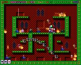 Super Methane Bros Amiga The candle killed all enemies.