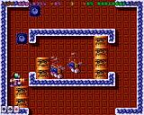 Super Methane Bros Amiga These blocks can be picked up and arranged with the gun, allowing the character to reach higher platforms.