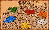 Kingdoms of Germany DOS Overall map of German lands