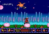 ToeJam & Earl in Panic on Funkotron Genesis Playing together