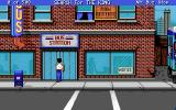 Les Manley in: Search for the King Amiga Bus stop