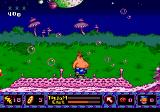 ToeJam & Earl in Panic on Funkotron Genesis You can jump on those pink thingies