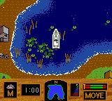 Zebco Fishing! Game Boy Color A lovely lilypad strewn cove.