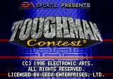 Toughman Contest SEGA 32X Title Screen