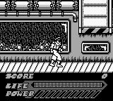 Mighty Morphin Power Rangers: The Movie Game Boy The final area...