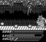 Mighty Morphin Power Rangers: The Movie Game Boy A piggy boss.