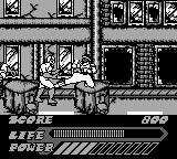 Mighty Morphin Power Rangers: The Movie Game Boy Using terrain to your advantage.
