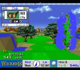 True Golf Classics: Wicked 18 SNES Select a club.